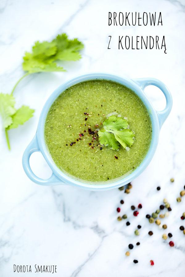 Zupa brokułowa z kolendrą - post dr Dąbrowskiej