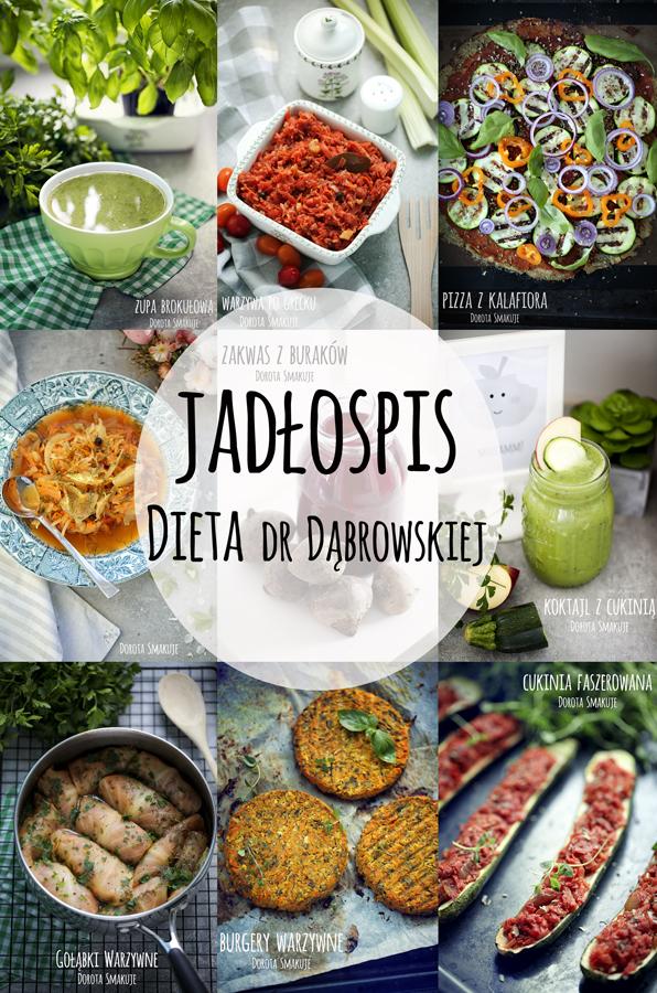 Jadłospis tygodniowy <br> - dieta dr Dąbrowskiej