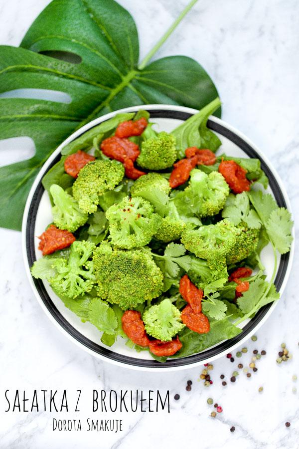 Sałatka z brokułem - post dr Dąbrowskiej