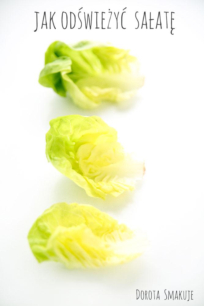 Jak odświeżyć sałatę - sposób na zwiędłą sałatę