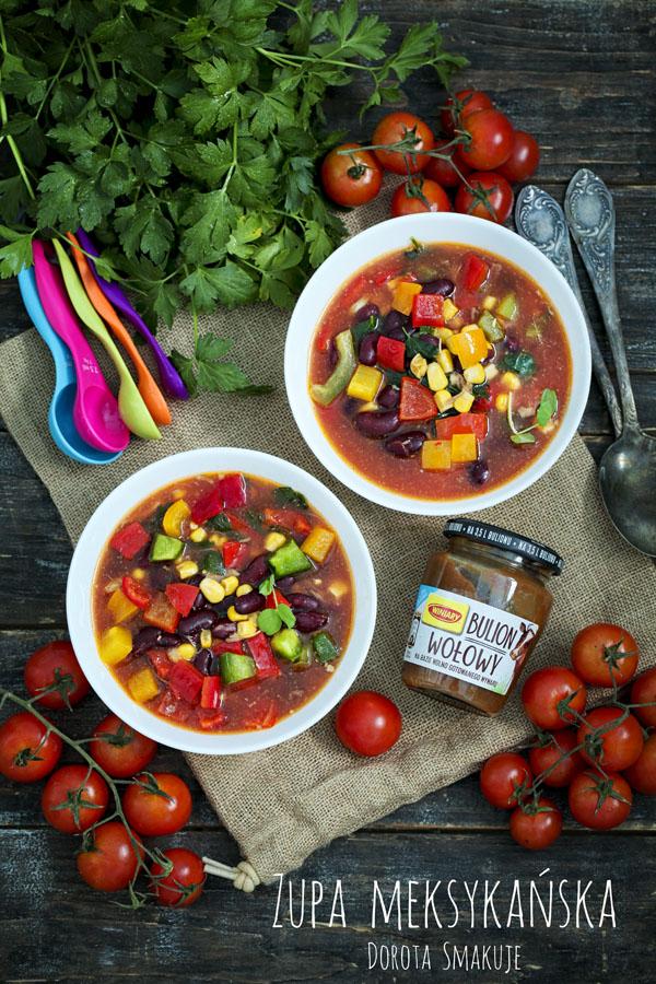 Zupa meksykańska w 15 minut