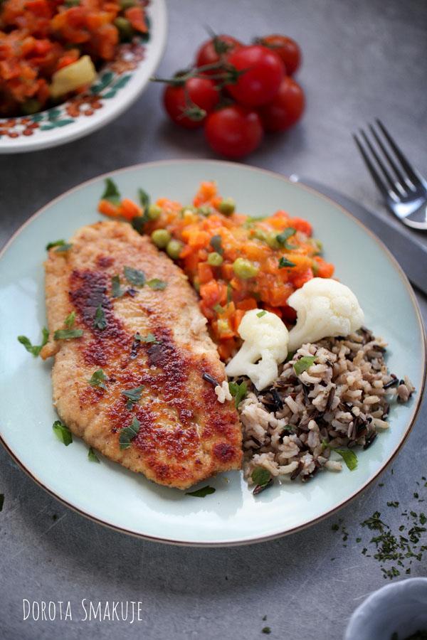 Filety rybne smażone w panierce