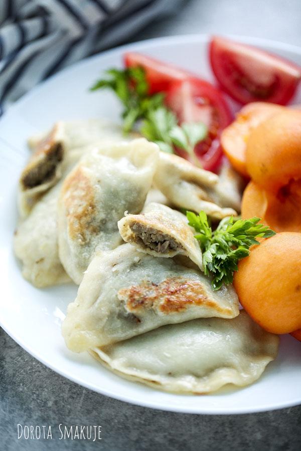 Pierogi z soczewica i ziemniakami