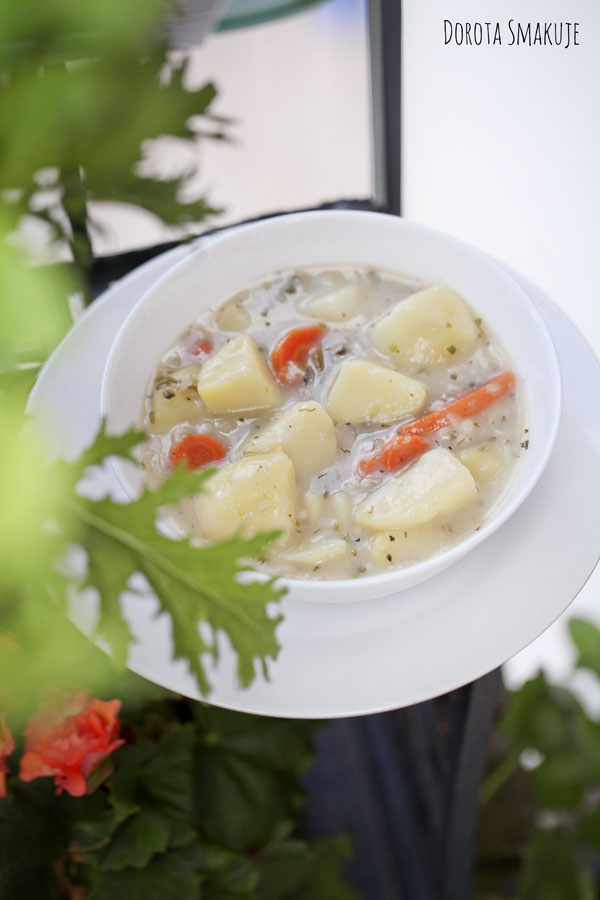 Krupnik wegetariański