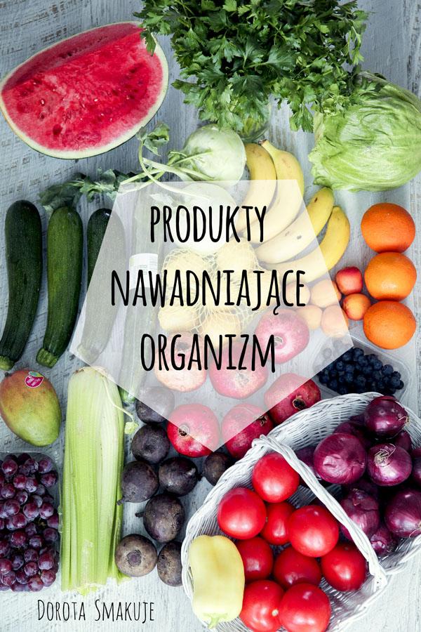 Produkty nawadniające organizm