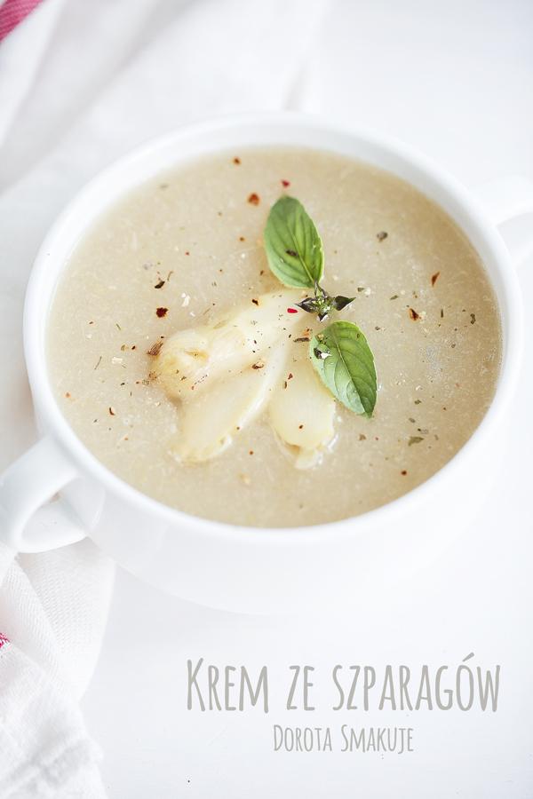 Zupa krem ze szparagów <br> – dieta dr Dąbrowskiej