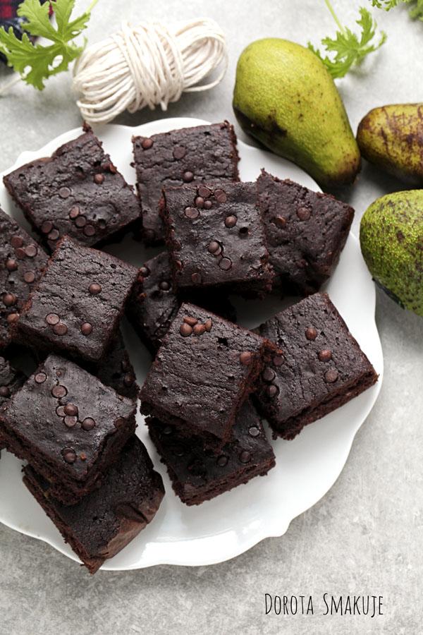 Ciasto czekoladowe z czekoladą