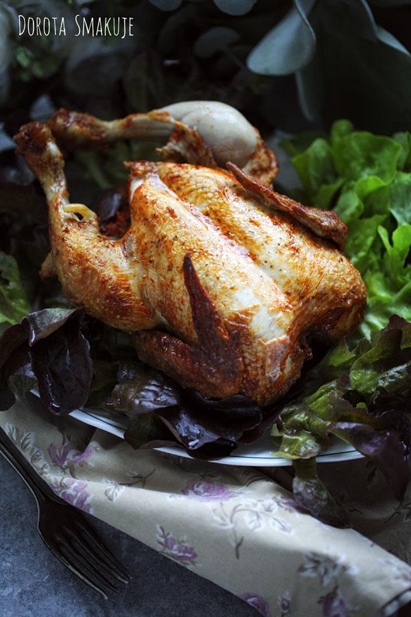 Kurczak z rożna - przepis