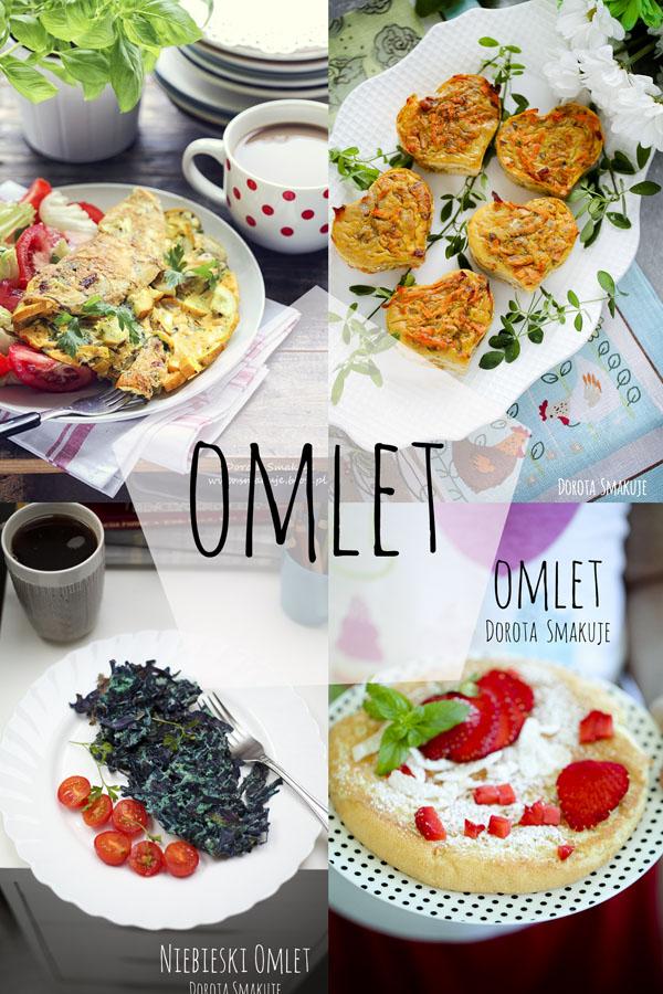 Omlet - 35 przepisów na pyszne omlety