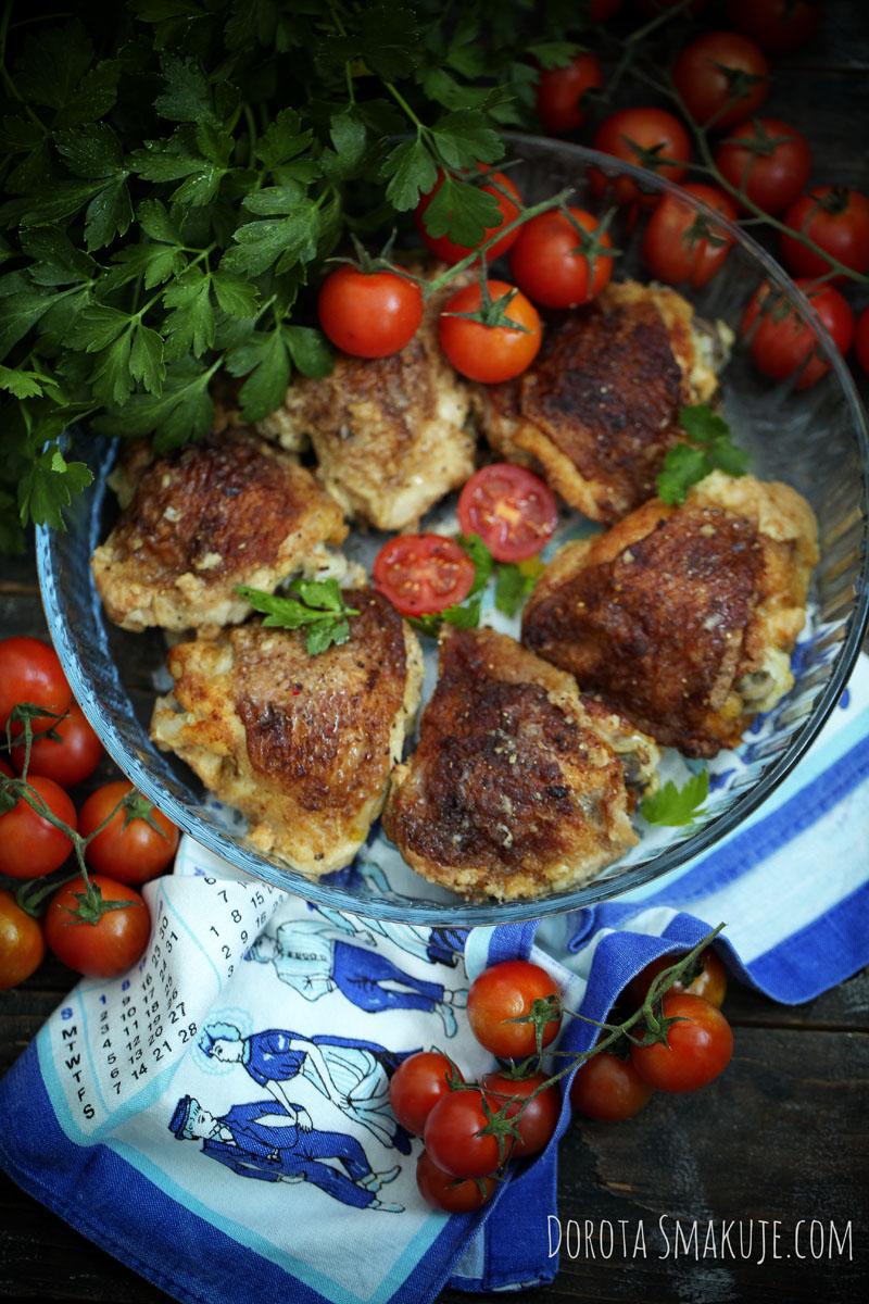 Kurczak pieczony po włosku