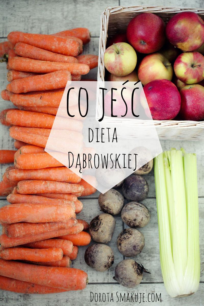 Dozwolone warzywa i owoce - dieta dr Dąbrowskiej