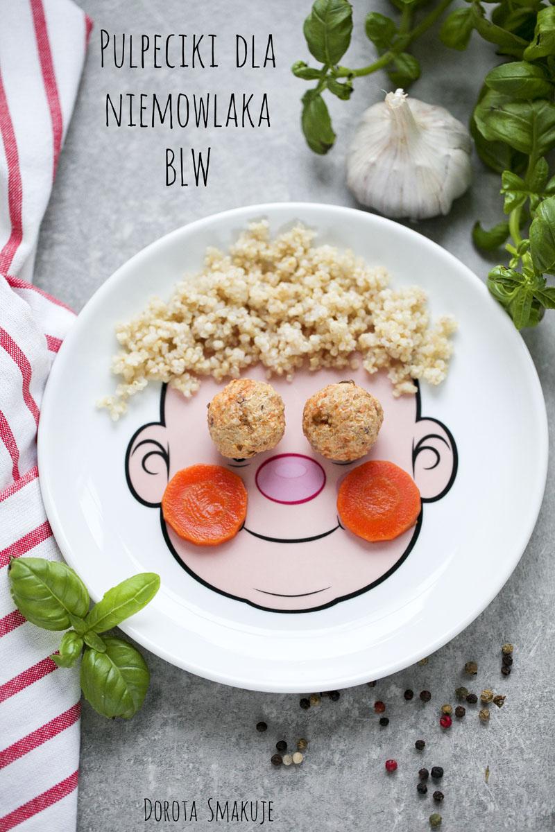 Pulpeciki dla niemowlaka BLW