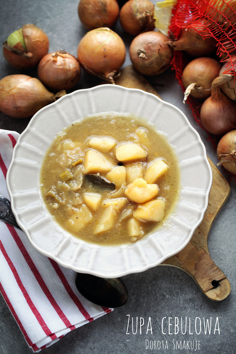 Kryzysowa zupa cebulowa