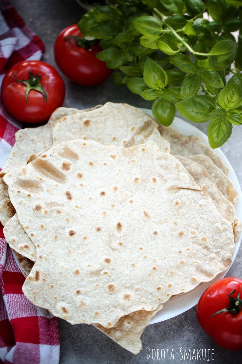 Domowa tortilla pełnoziarnista - przepis