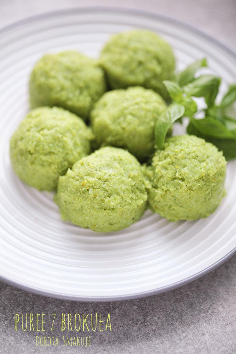 Puree z brokuła - super zdrowe!