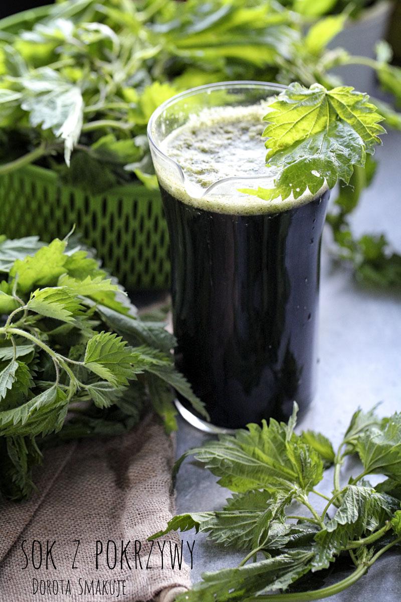 Jak zrobić sok z pokrzywy bez wyciskarki