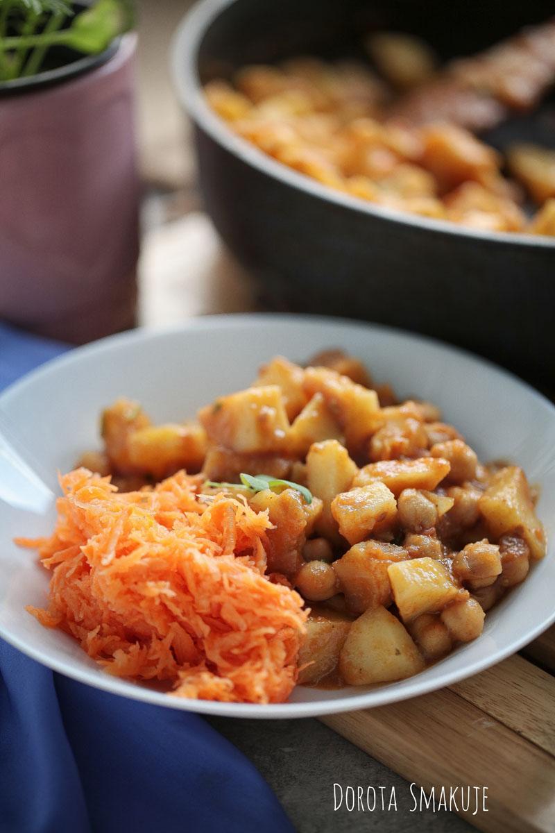 Aloo chana - indyjskie ziemniaki z ciecierzycą - film