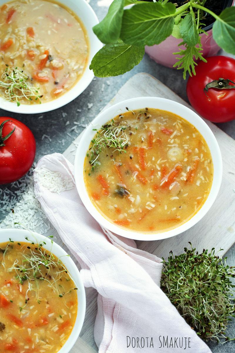 Oszczędna Zupa Tajska