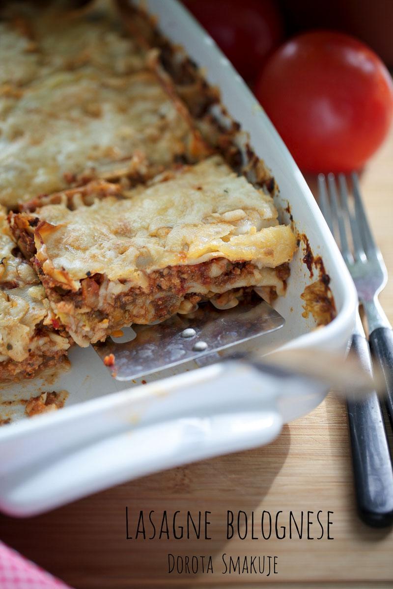 Lasagne bolognese - pyszna zapiekanka makaronowa