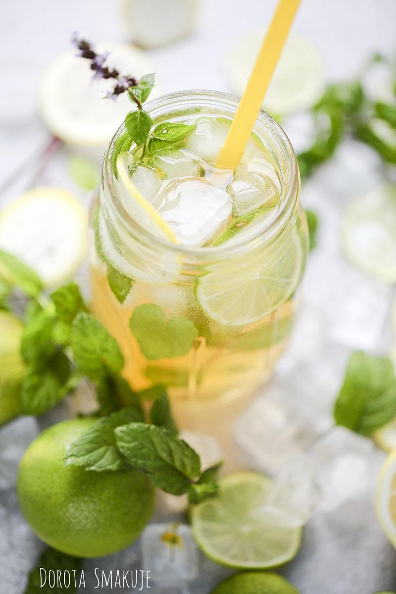 Ice tea - domowa mrożona herbata