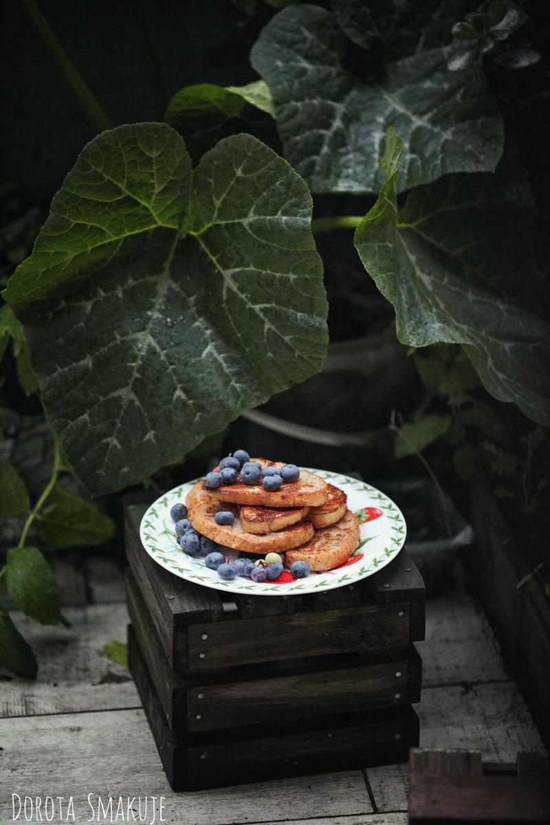 tosty franuskie jabłko cynamon