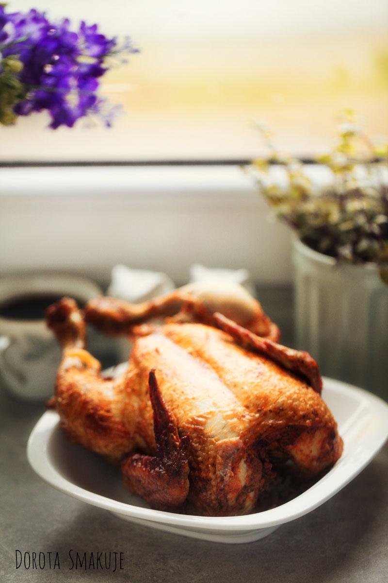 Kurczak z rożna pieczony w piekarniku
