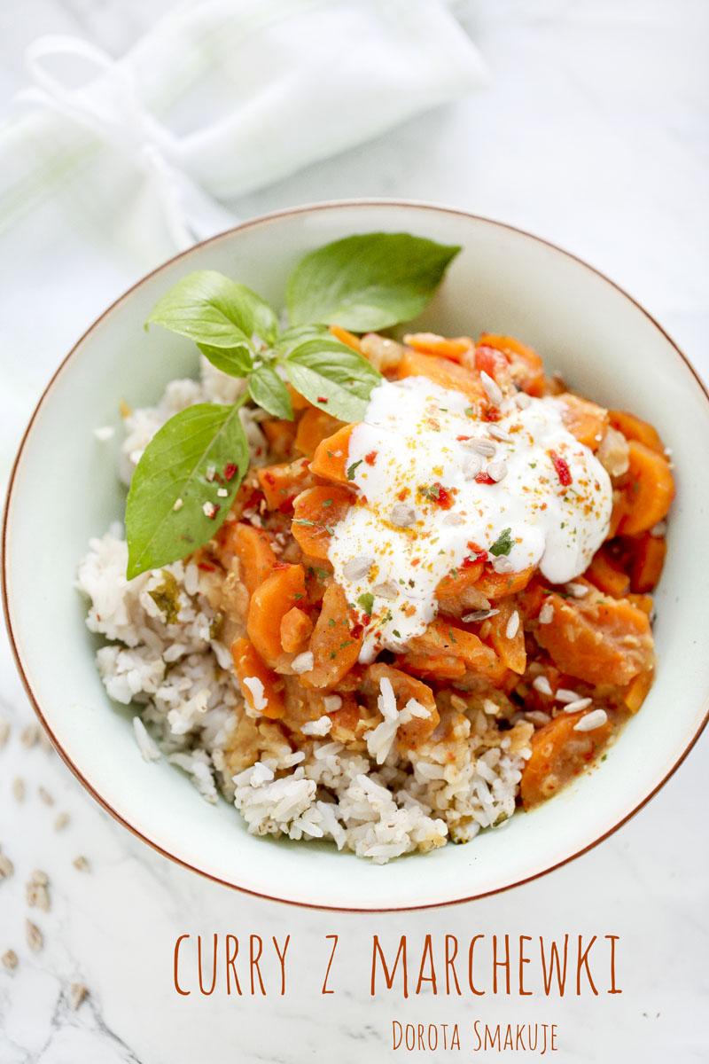 Curry z marchewki