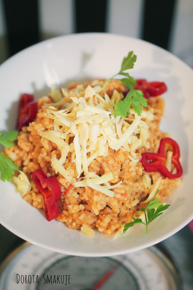 Ryż po bolońsku