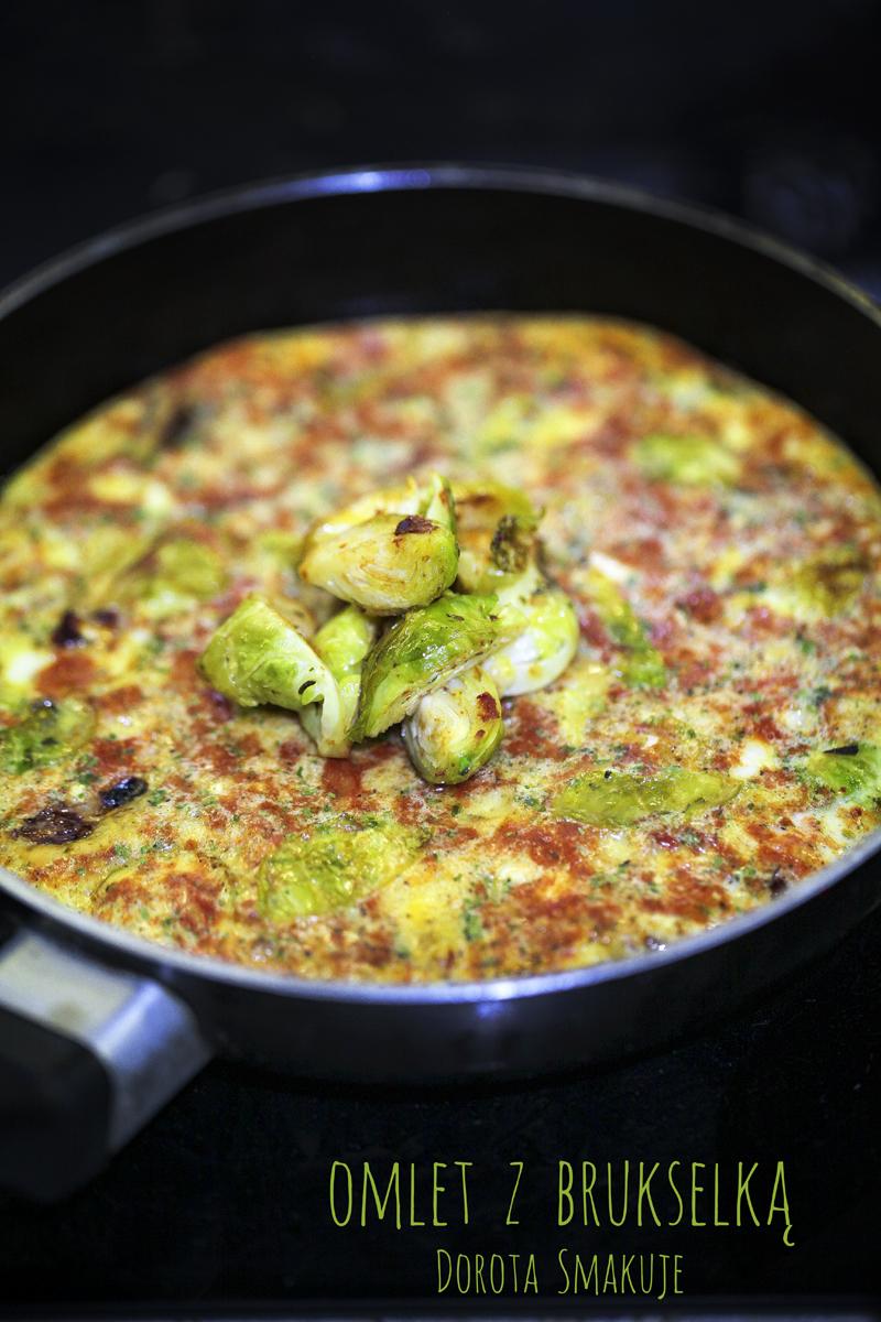Omlet z brukselką - szybki i smaczny