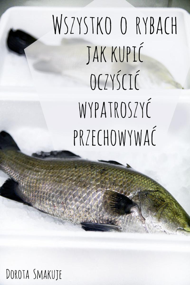 Wszystko o rybach - jak kupić, oczyścić, przechowywać