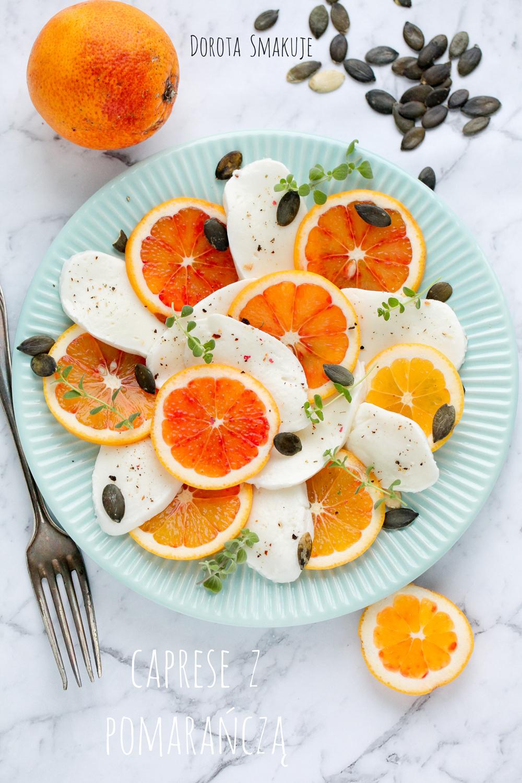 caprese z pomarancza