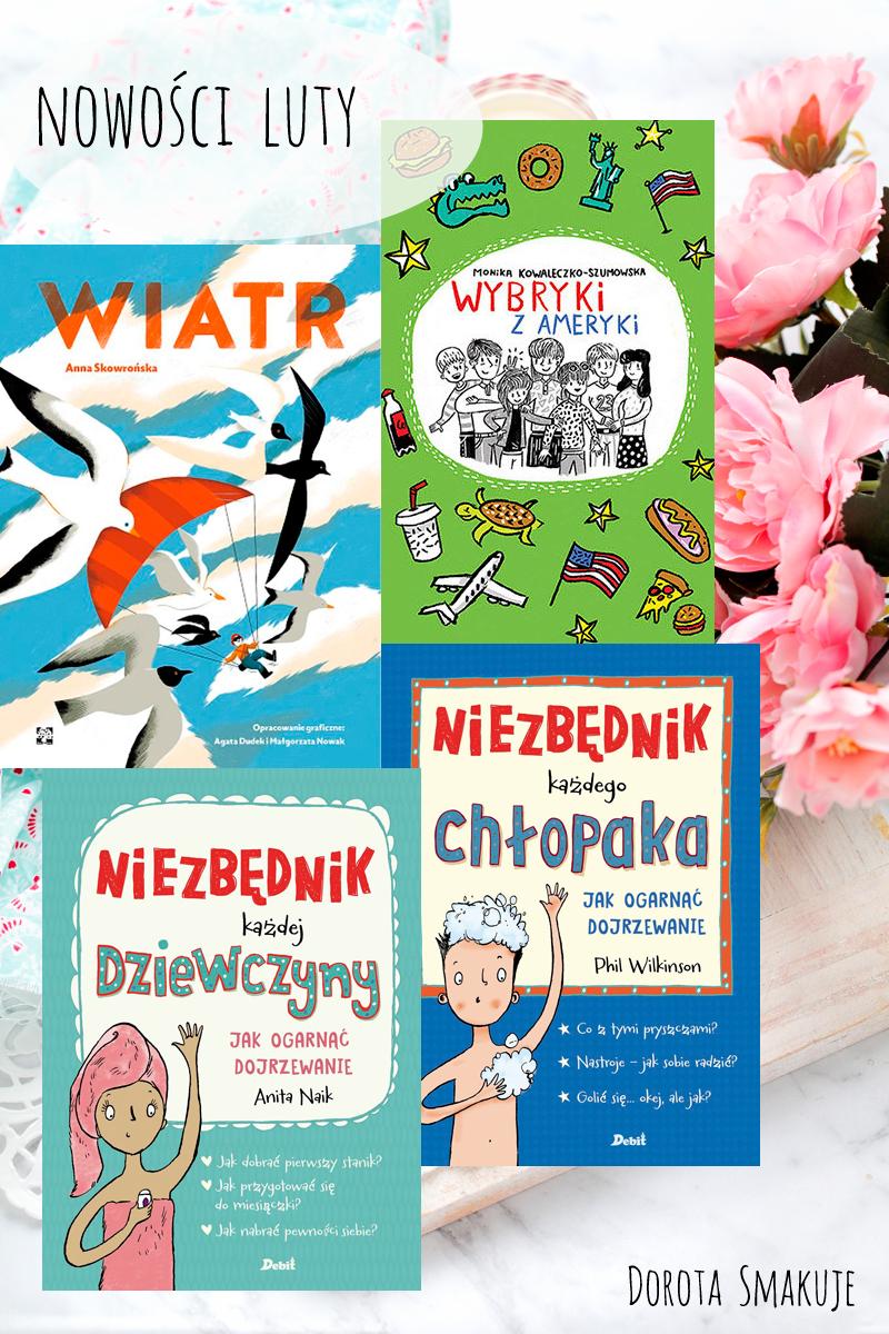 Książki dla dzieci - nasze nowości Luty