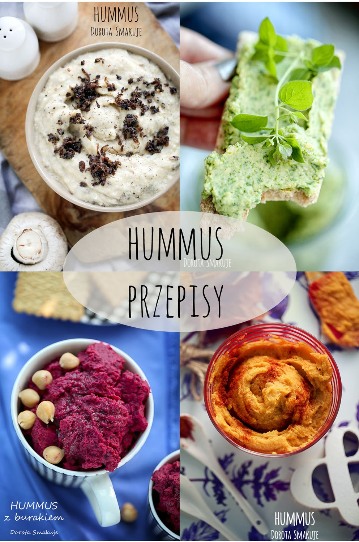przepisy na hummus