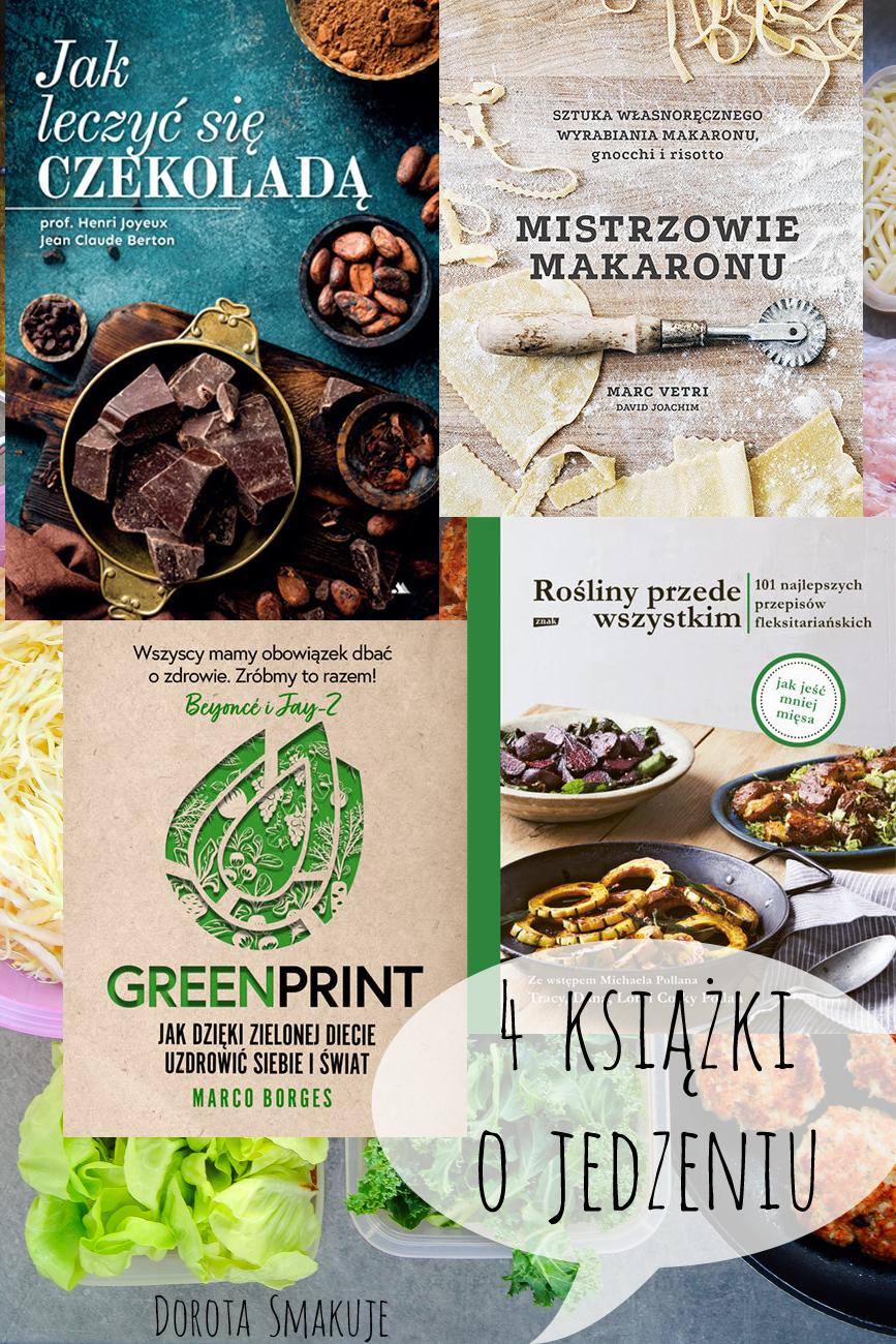 4 książki o jedzeniu