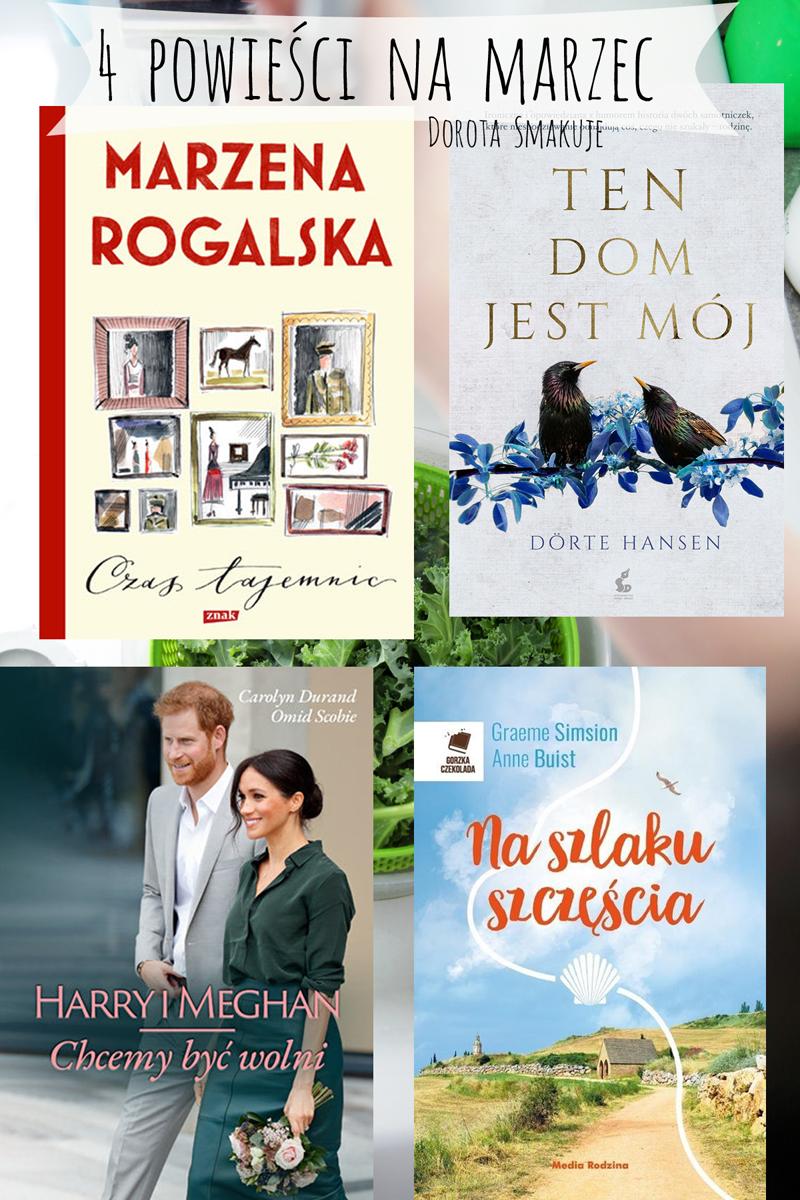 4 powieści na marzec