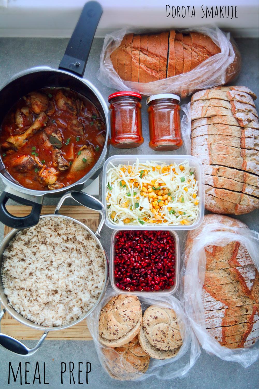Meal prep - gotowanie na zapas
