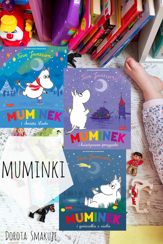 Bajkowi bohaterowie z dzieciństwa - Muminki