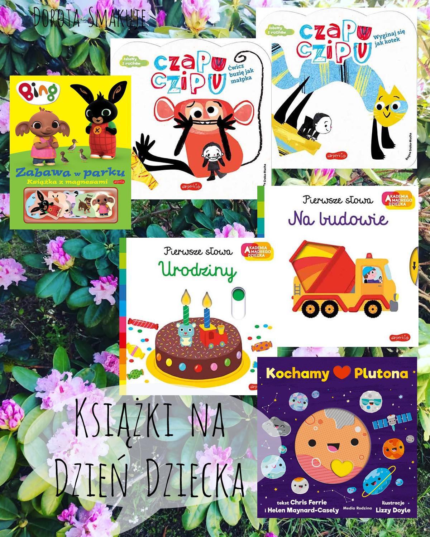 Książki na Dzień Dziecka dla najmłodszych