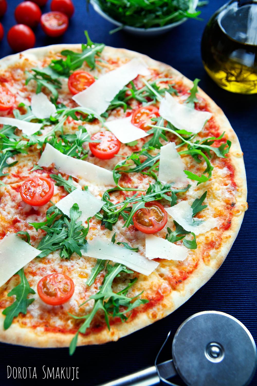 Pizza domowa jak z włoskiej pizzerii