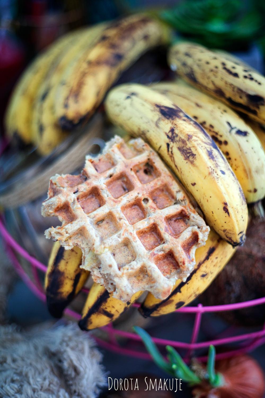 Gofry z dojrzałych bananów