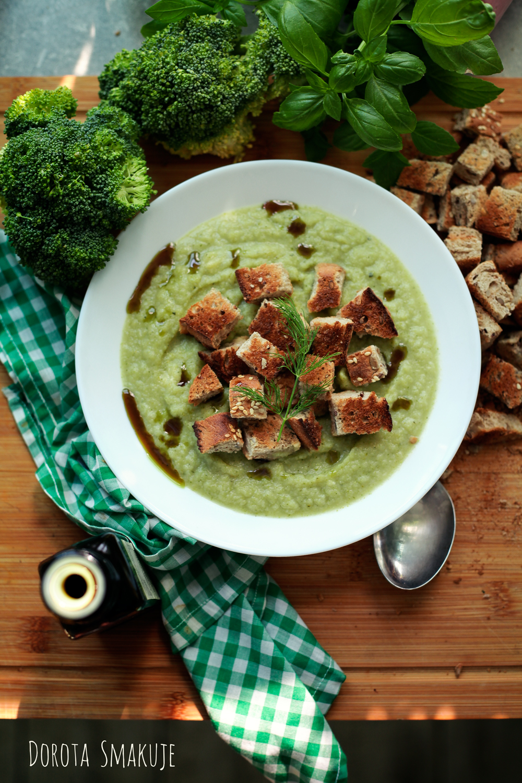 Zupa z zielonych warzyw w 15 minut