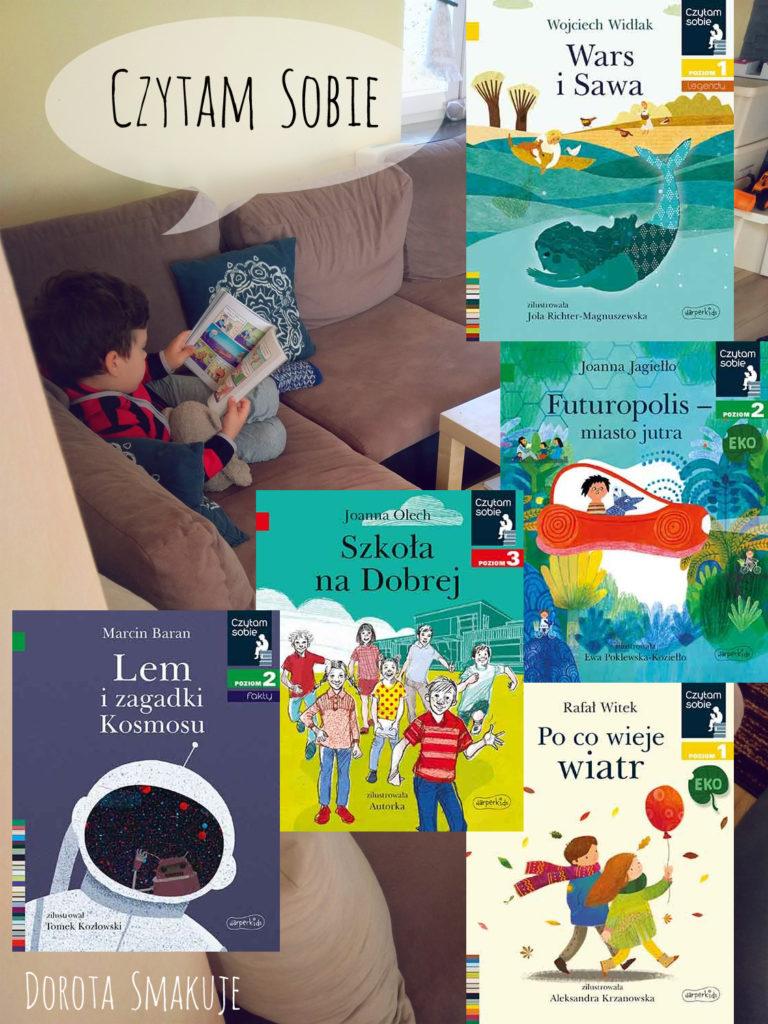 Pierwsze próby czytelnicze - książki