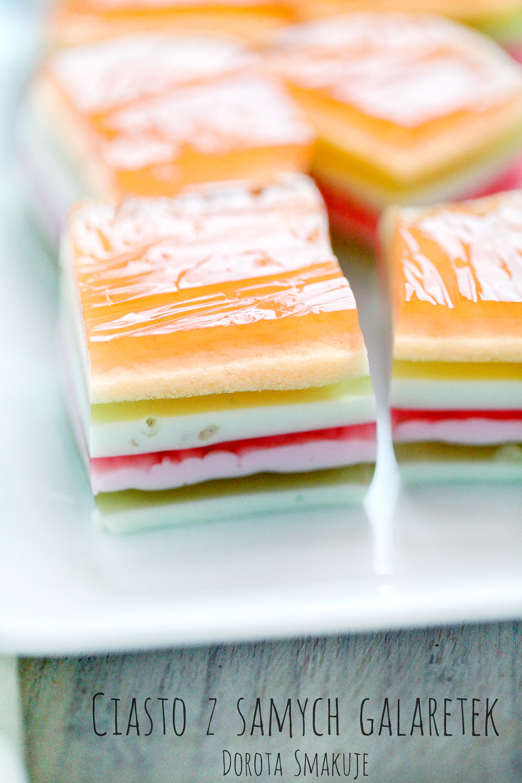 Ciasto z samych galaretek
