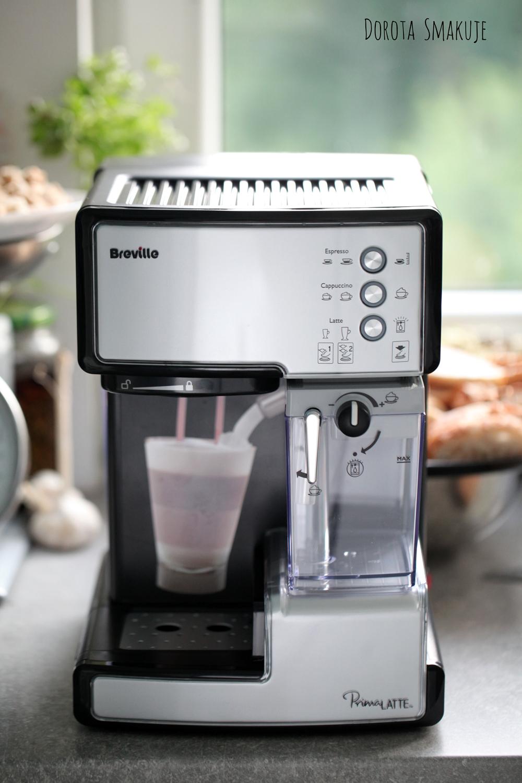 Ekspres do kawy kolbowy Breville Prima Latte VCF045X - recenzja